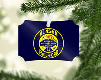 Alaska Railroad McKinley Route Ornament