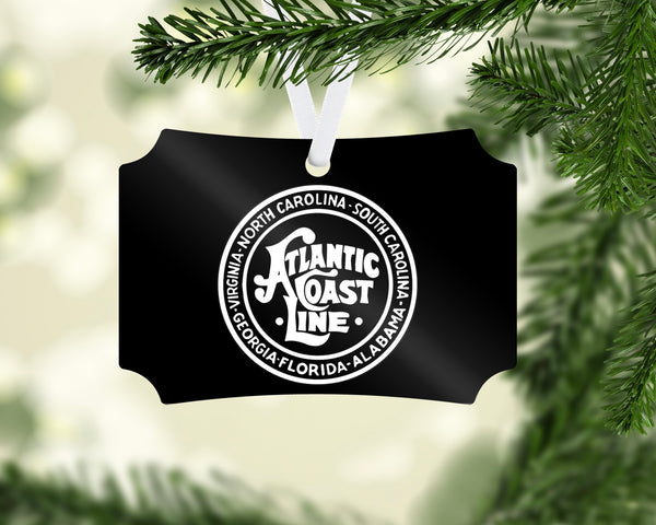 Atlantic Coast Line ACL (Black/White) Ornament