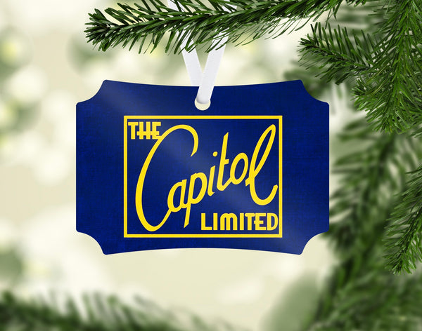 Baltimore & Ohio (B&OH) Capital Limited Ornament