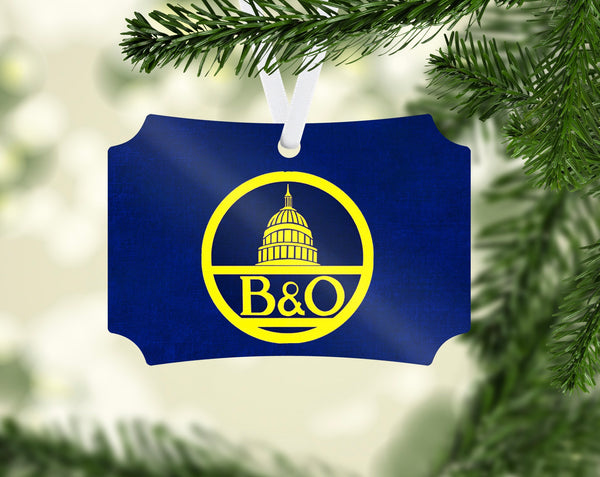 Baltimore & Ohio (B&OH) Capital Rotunda Herald Ornament