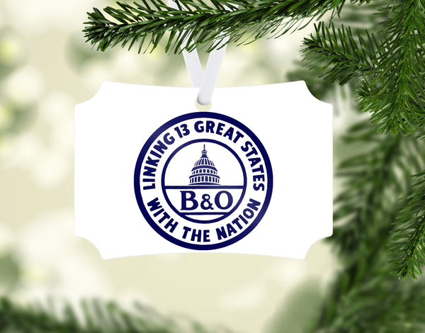 Baltimore & Ohio (B&OH) Linking 13 Great States Ornament