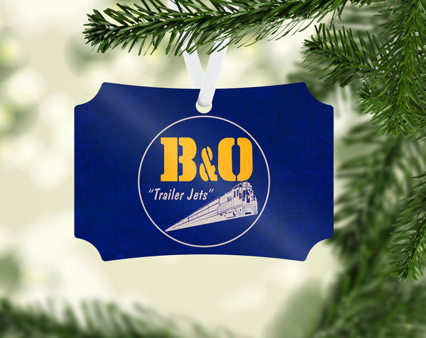Baltimore & Ohio (B&OH) Trailer Jets Ornament