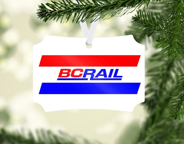 British Columbia Railway (BCRail) Ornament