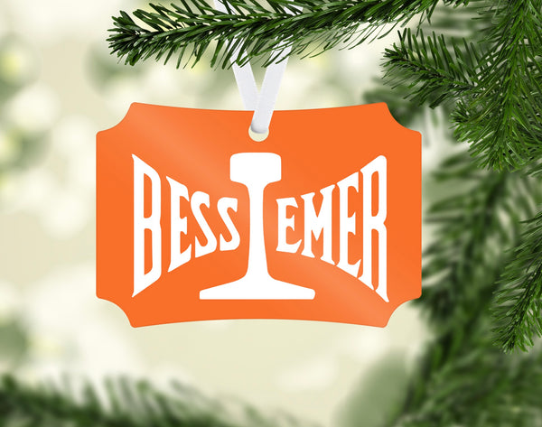 Bessemer & Lake Erie Railroad Ornament
