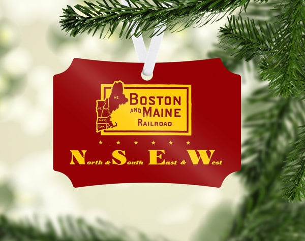 Boston & Maine NSEW Ornament