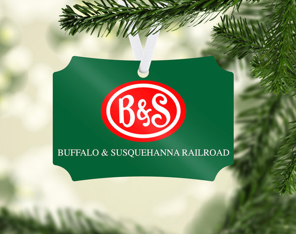 Buffalo & Susquehanna Railroad (B&S) Ornament