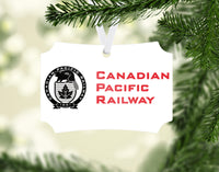 Canadian Pacific Ornament