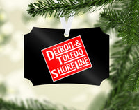 Detroit, Toledo, & Shoreline Ornament