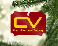 Central Vermont Railway Ornament