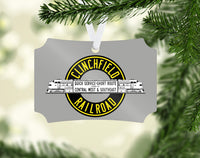 Clinchfield Railroad Ornament