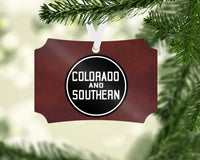 Colorado & Southern Ornament