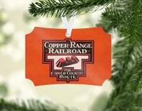 Copper Range Railroad Ornament