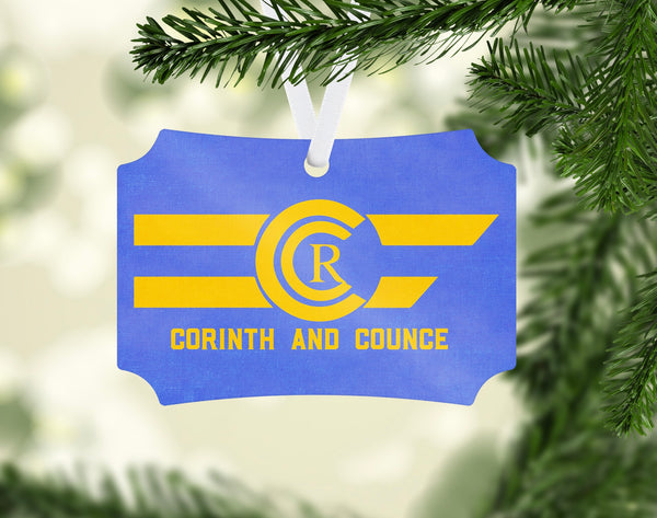 Corinth & Counce Ornament