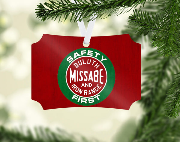 "Deluth, Missabe & Iron Range ""Safety First"" Ornament"