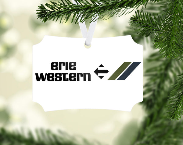 Erie Western Ornament
