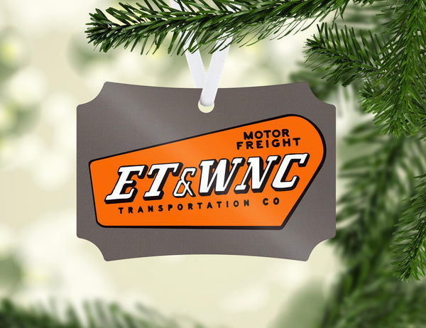 East Tennessee & Western North Carolina (ET&WNC) - Motor Frieght - Ornament