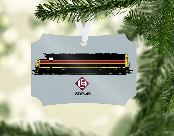 Eric Lackawanna SDP-45 Ornament
