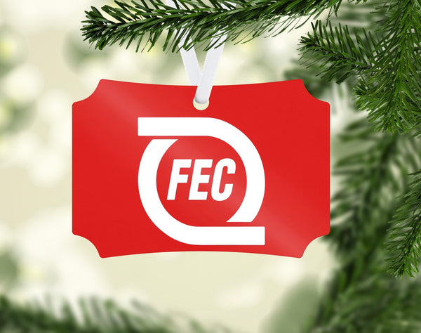 Florida East Coast (FEC) Railroad Ornament