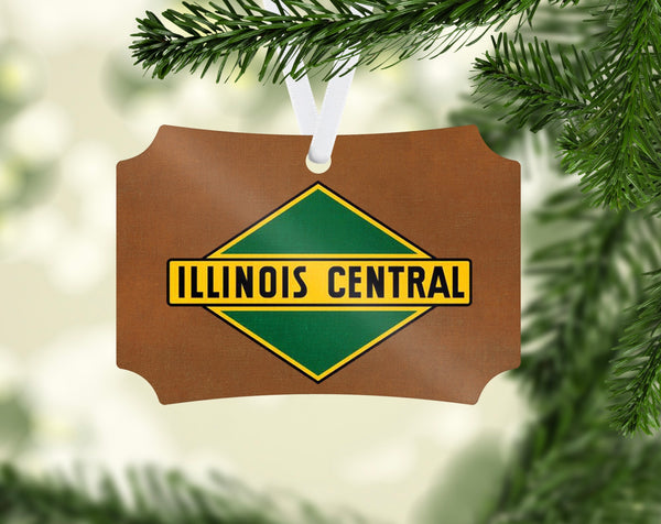 Illinois Central Railroad Ornament