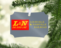 Louisville & Nashville (L&N) Railroad - The Dixie Line - Ornament