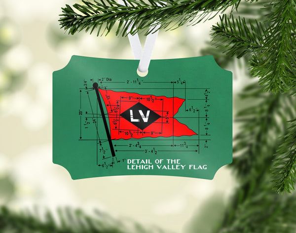 Lehigh Valley Railroad Ornament