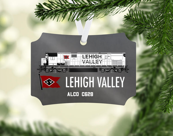 Lehigh Valley Railroad Snowbird Ornament