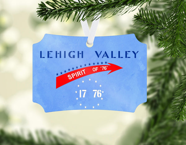 Lehigh Valley Railroad Spirit of '76 Ornament