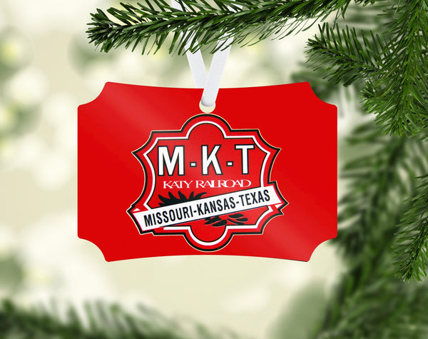 Missouri Kansas Texas MKT Ornament