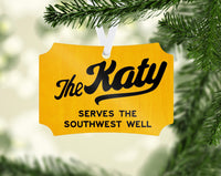 Missouri Kansas Texas - The KATY Ornament