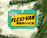 New York Central System (NYC) - Flexi-Van - Ornament