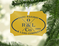Oahu Railway & Land Co. Ornament
