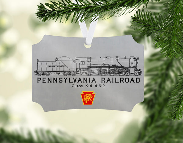Pennsylvania Railroad (PRR) K-4 Ornament