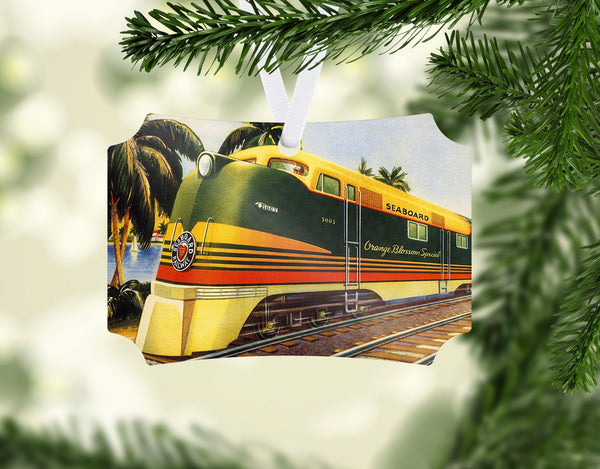 Seaboard Air Line RR - Orange Blossom Special - Ornament