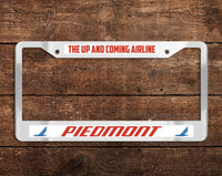 Piedmont Airlines - The Up & Coming Airlines (PA) Chrome License Plate Frame