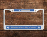 Richmond, Fredericksburg and Potomac (RF&P) Chrome License Plate Frame