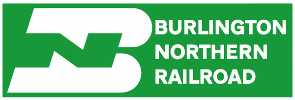 Burlington Northern Vinyl Sticker