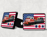 NS 9-1-1 - First Responder Hitch Receiver Cover