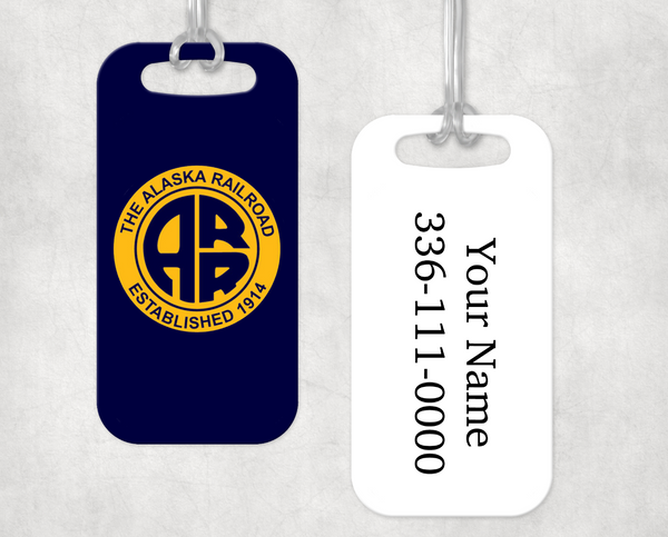 Alaska RR Luggage Tag
