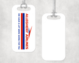 Allegheny Airlines Luggage Tag