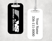 Norfolk Southern (NS) Luggage Tag