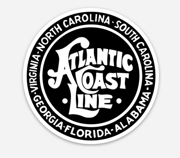 Atlantic Coast Line (ACL) Vinyl Sticker