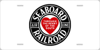 Seaboard Air Lines RR (SAL) License Plate