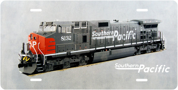 Southern Pacific No.8132 License Plate