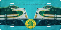 Southern Railway (SOU) System Streamliner License Plate