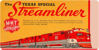MKT - The Texas Special Streamliner - Wall / Desk Plaque
