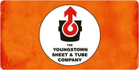 Youngstown Sheet & Tube Co. License Plate