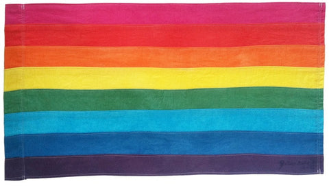 Gilbert Baker Original 8 Color Rainbow Flag