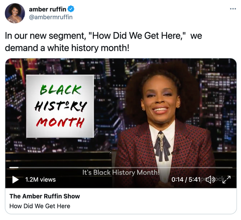 amber ruffin black history month