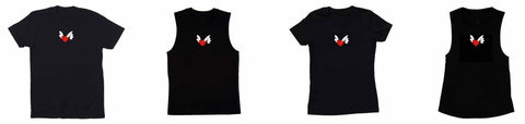 flying heart tshirts supporting helping our women