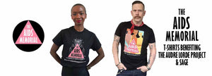 aids memorial t-shirt sage audre lorde project